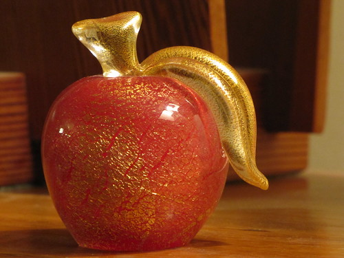Murano Glass Apple
