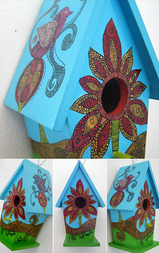 the bird house