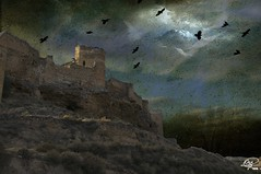 The Castle (Xag.) Tags: sunset castle dramatic textures crow drama ocaso castillo texturas cuervo xag abigfave theunforgettablepictures a3b