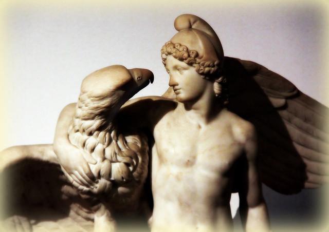 Statue - Ganymedes ?