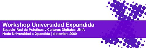 Workshop Universidad Expandida