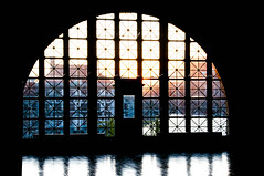 Ellis Island window by dlm7155, on Flickr