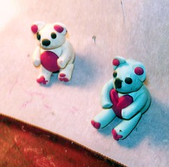 Clay Bears 1 (MtnBkr2009) Tags: cute paint crafts bears arts clay figures sculptures modelingclay