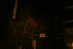 Behind the stage (Landie_Man) Tags: street old cinema abandoned film rotting 1930s oscar closed 1999 forgotten dying aylesbury derelict odeon deutsch 1937 flicks cmbridge