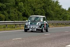 London to Brighton Mini Run 2011 (sjr60) Tags: road england car westsussex unitedkingdom mini sr classicmini a23 londontobrightonminirun ef70300mmf456isusm albourne