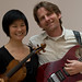 Jennifer KOH, violin STEVEN MACKEY, electric guitar IMGP1282