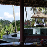 CasCades Restaurant Overlooking Lush Greenery Valley, Viceroy Bali