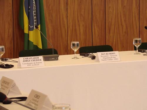 Rio +20 Reunião Sociedade Civil com  Ban-ki-Moon ONU