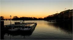 622-ATARDECER SOBRE EL LAGO - HAMBURGO - (--MARCO POLO--) Tags: atardeceres ocasos ciudades lagos rincones