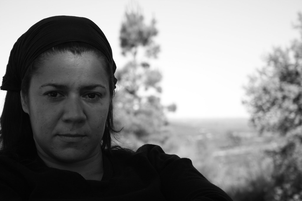 Mujer en negro