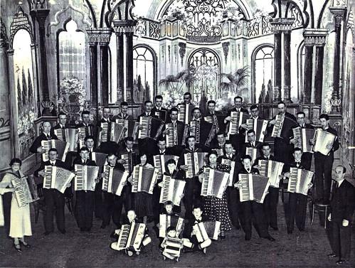 Accordion band, 1930s