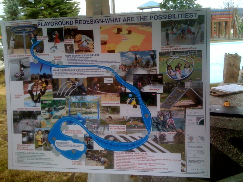 Grimston Park playground ideas
