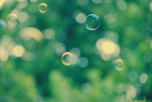 a bubble amongst bubbles...