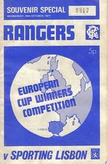 Rangers v Sporting 19711020 (tcbuzz) Tags: cup portugal club football european stadium glasgow rangers winners ibrox libson sprting