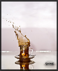 Tea? Anyone.. (SHINE KWS) Tags: water speed high shine tea sony sugar kuwait splash alpha ahmad a200 ahmed kws q8 hsp kwt    photoghraphy  anawesomeshot superaplus aplusphoto platinumheartaward  fabbow