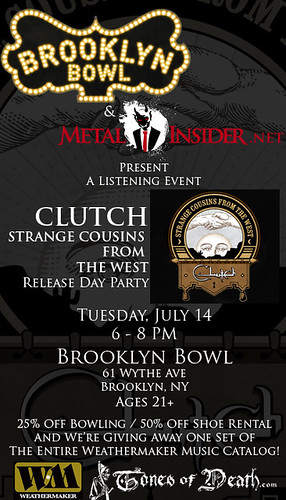 Clutch Listening Party :: 07.14.09