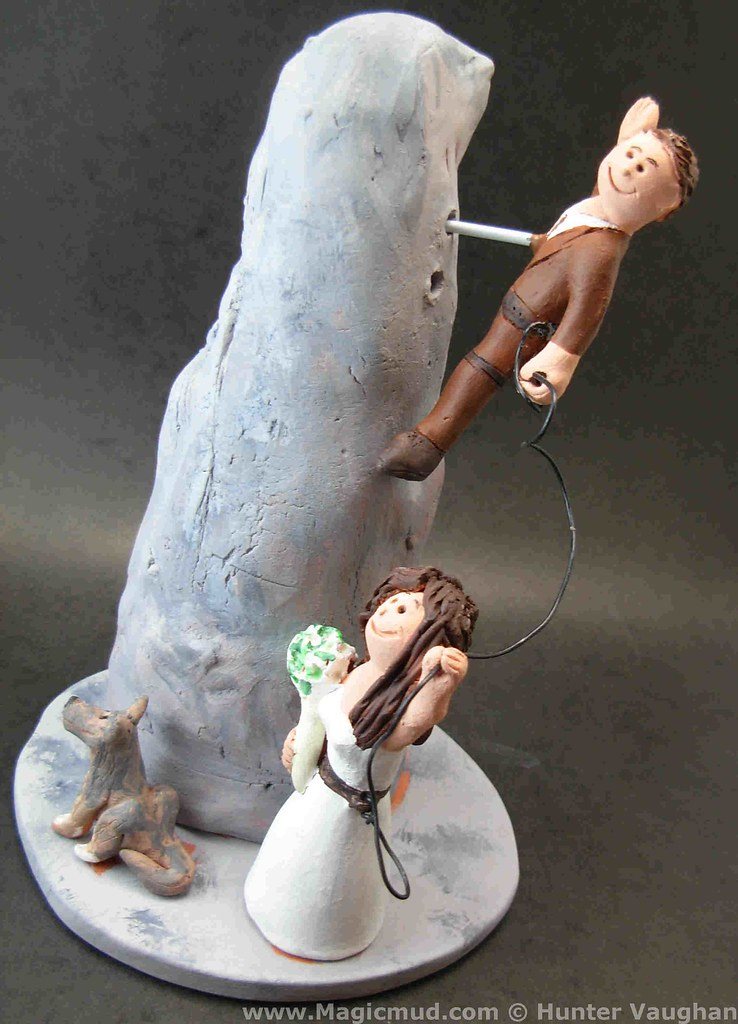 rock climbing wedding cake toppers the world s newest photos by custom wedding cake toppers 19248