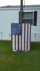 Handmade act of patriotism.