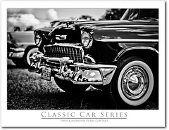 Black Chevy  - Classic Car Series (Pierre Contant) Tags: cruise sunset vacation ontario canada tourism night photoshop 50mm nikon flickr pierre nikkor50mmf18 southampton saugeenshores cruisenight d300 cs4 contant kartpostal omot cans2s pierrecontant classiccarseries