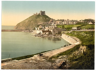 [From the parade, Criccieth Castle, Wales] (LOC)