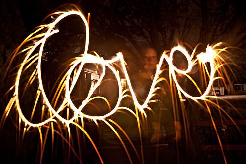 sparkler love