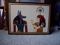 Meza's painting