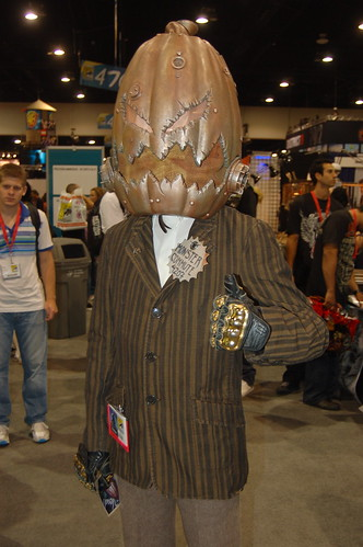 Comic Con 09: Steampunk Pumpkin Head