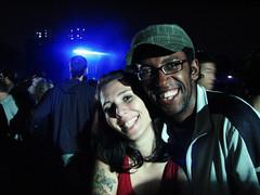 Malu+Renatildo (laconics) Tags: show brazil brasil concert saopaulo sp radiohead krafwerk justafest renatildo chacaradojockey