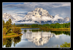 Portrait of a Peak (James Neeley) Tags: landscape grandtetons tetons hdr grandtetonnationalpark gtnp 5xp jamesneeley bratanesque