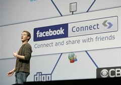 Zuck and FB connect
