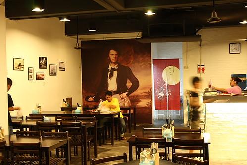 Rajah Brooke Cafe at Jalan Kuchai Lama