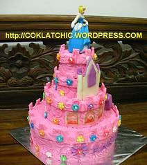 Princess Castle Birthday Cake Raisya Jual Kue Ulang Tahun