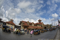 Bandra Station, Mumbai - India (Humayunn N A Peerzaada) Tags: india heritage station lens model photographer structure fisheye tokina actor maharashtra mumbai 1880 bandra renovated humayun mhcc d90 westernrailway tokinalens peerzada tokinafisheye nikond90 humayunn peerzaada bandrastation heritagestructure humayoon wwwhumayooncom humayunnapeerzaada harbourline tokinafisheyelens nikond90clubasia humayunnnapeezaada ronovation 10to17mmf3545 westernlines gradeiheritagestructure mumbaiheritageconservationcommittee