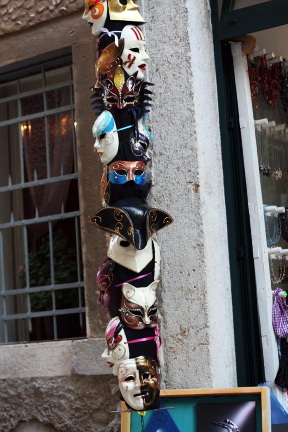 rovinj venetian masks