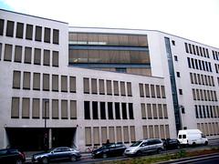 Bildungszentrum, Frankfurt/Main 2009 (Spiegelneuronen) Tags: ostend frankfurtmain bildungszentrum hanauerlandstrase