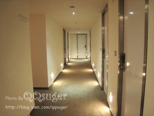 你拍攝的 走廊。