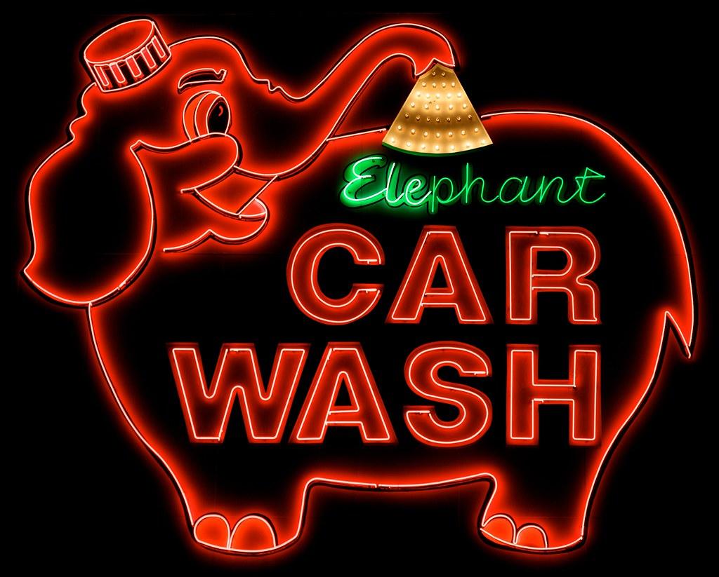 Elephant Car Wash, Tacoma