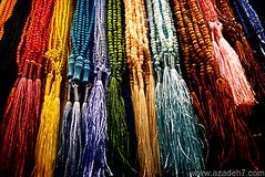 Rosaries (Azadeh Asaran) Tags: colors colorful religion pray believe tasbih