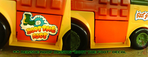 The tOkKa junkyard Car Show :: Classic Party Wagon vs. TMNT 25 Reissue //  Ramp decal