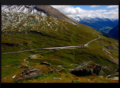 Grossglockner Hochalpenstrasse (oar_square) Tags: mountains alps landscape austria sterreich highway carinthia cate scenicdrive copenhaver grossglocknerhochalpenstrasse oarsquare highalpenroad