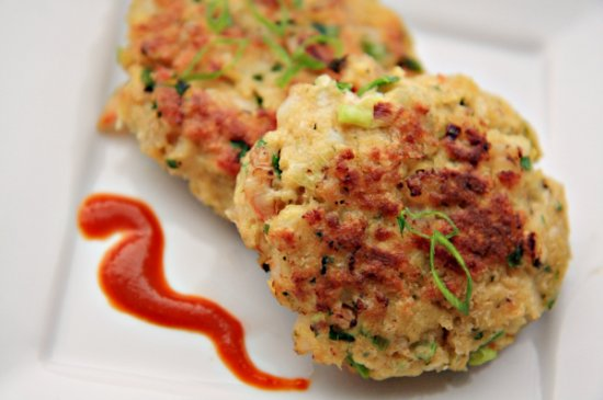 Shrimp Cakes Header