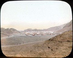 The camp at Aden (The Field Museum Library) Tags: africa expedition yemen mammals aden zoology 1896 carlakeley specimencollection dgelliot