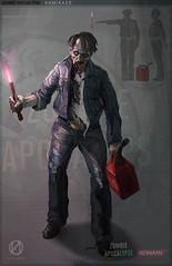 Zombie Apocalypse Kamikaze