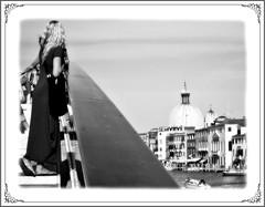 (ivanneth) Tags: venice madame blackandwhite bw girl lady blackwhite princess dreaming lass venezia venedig bianconero venetia biancoenero mademoiselle ragazza signorina veneto principessa signora sognante