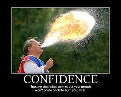 motivator-confidence (wplynn) Tags: inspiration indianapolis satire indiana posters motivation spoof renfaire inspirational renaissancefaire firebreather firebreathing motivational