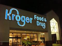 Kroger; former Wal-Mart (Liberty Fair Mall) (Joe Architect) Tags: 2009 retail martinsville virginia va kroger supermarket walmart sign signs grocerystore favorites yourfavorites myfavorites joesgreatesthits deadmall