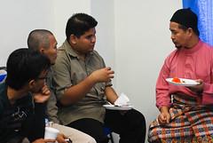 Bertemu Ustaz Annuar Salleh, YDP ISMA DHL (Ikatan Muslimin Malaysia Cawangan Hulu Langat) Tags: raya hari aidilfitri sambutan