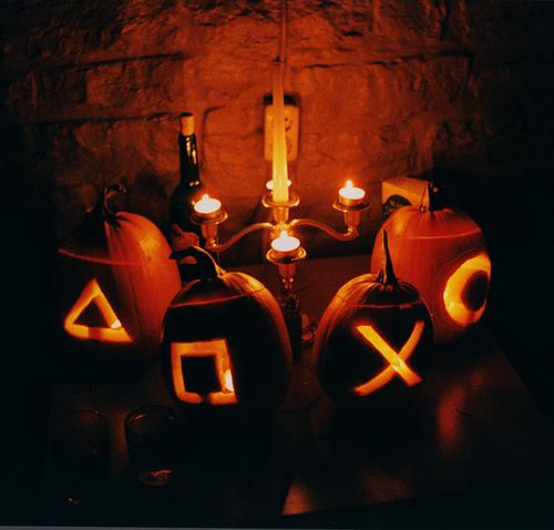 calabazas mando playstation