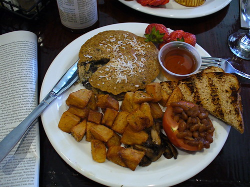 Imperial Pub vegan breakfast