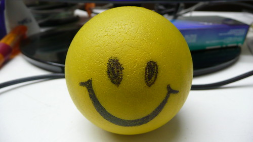 Don't worry be happy - stress squeeze ball